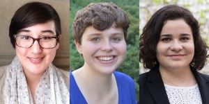 Two Students and an Alumna Awarded 2017 Stanford Calderwood Prizes in Public Writing