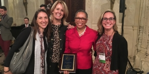 Wellesley Staff Honored for Leadership in Women's Health