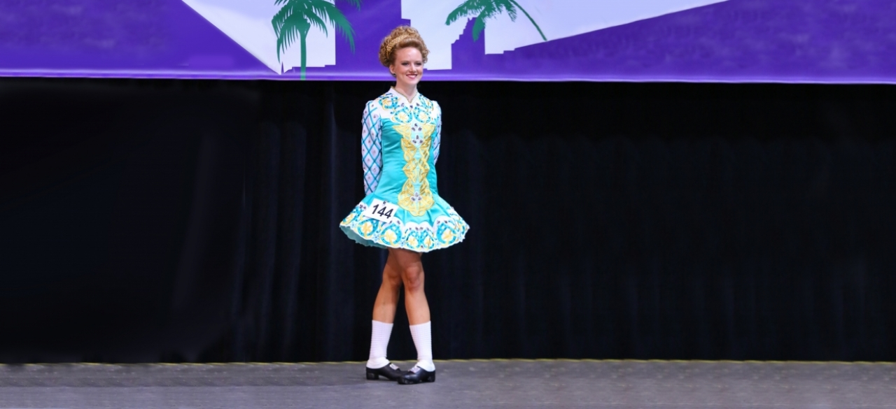 Gwendolyn Sands '18 Competes in North American Irish Dance Championships