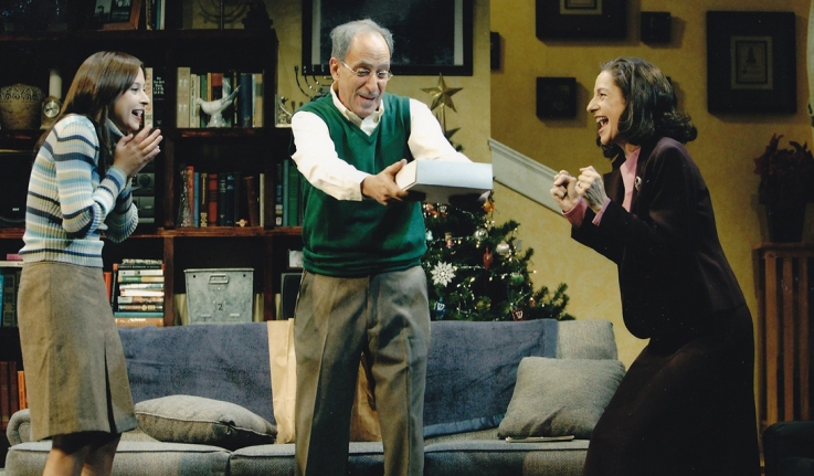 A scene form the Huntington Theater Company's production of Sonia Flew.