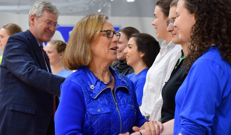 Wellesley Celebrates National Girls & Women in Sports Day and 365 Days of Blue