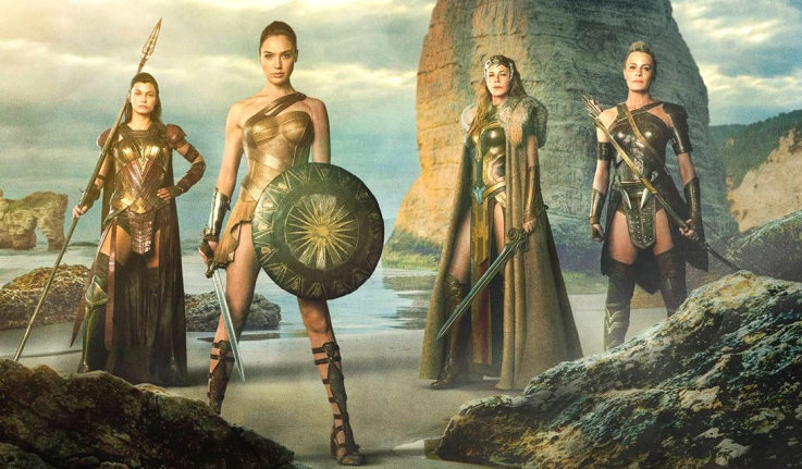 The Amazons of Wonder Woman