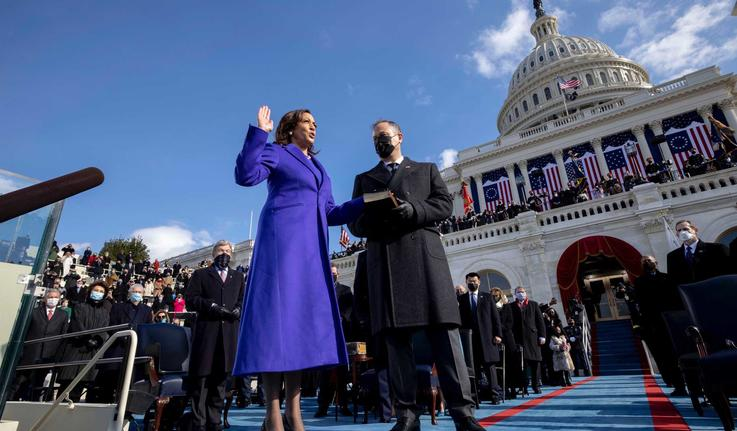 Sen. Kamala Harris sworn in as vice president