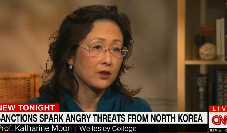 Katharine Moon on CNN