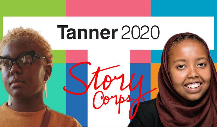 Iris Haastrup '22 and Shukri Ali '21