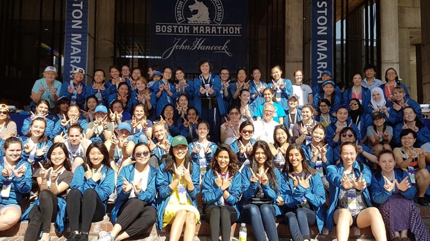2017 Wellesley alumnae and student volunteers