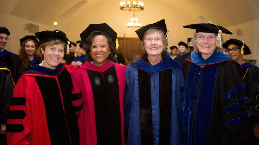 Four Wellesley Presidents
