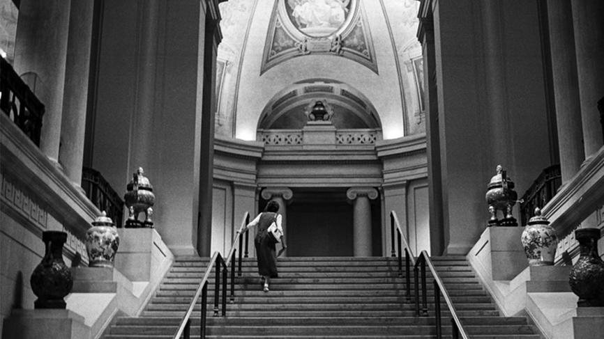 black and white photograph in the Met