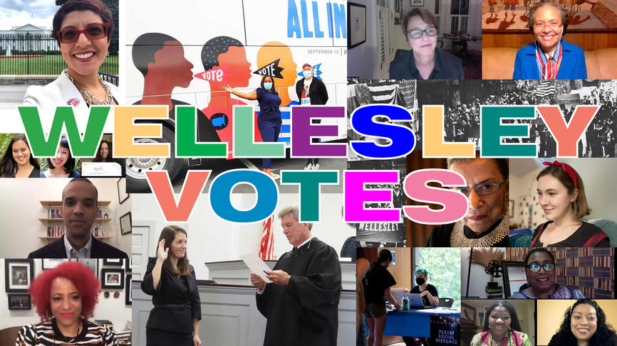 wellesley votes collage
