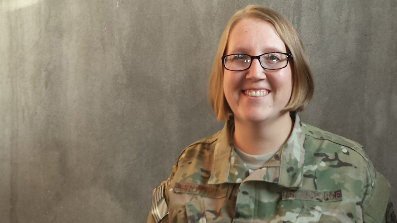 Air Force Technical Sergeant Nancy Brothers