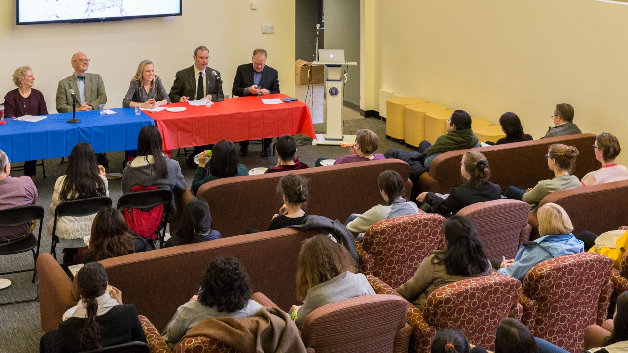 Campus Programs Examine Current Events and Post-Election Questions