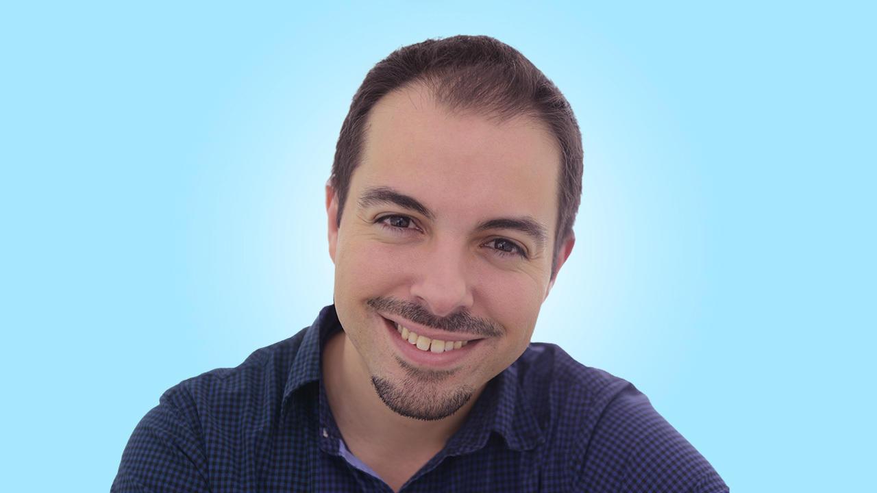 A portrait of Professor Oscar Fernandez