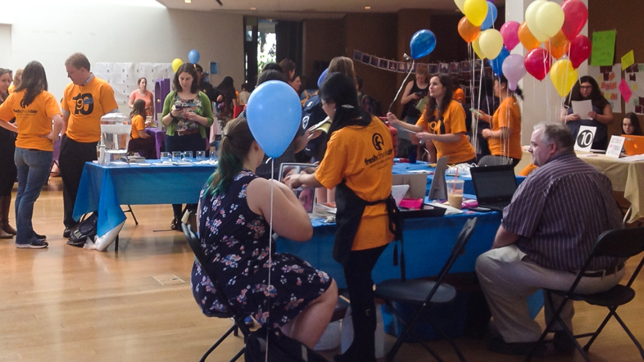 Second Annual Fresh Check Day Promotes Mental Health Awareness in a Fun, Vibrant Way