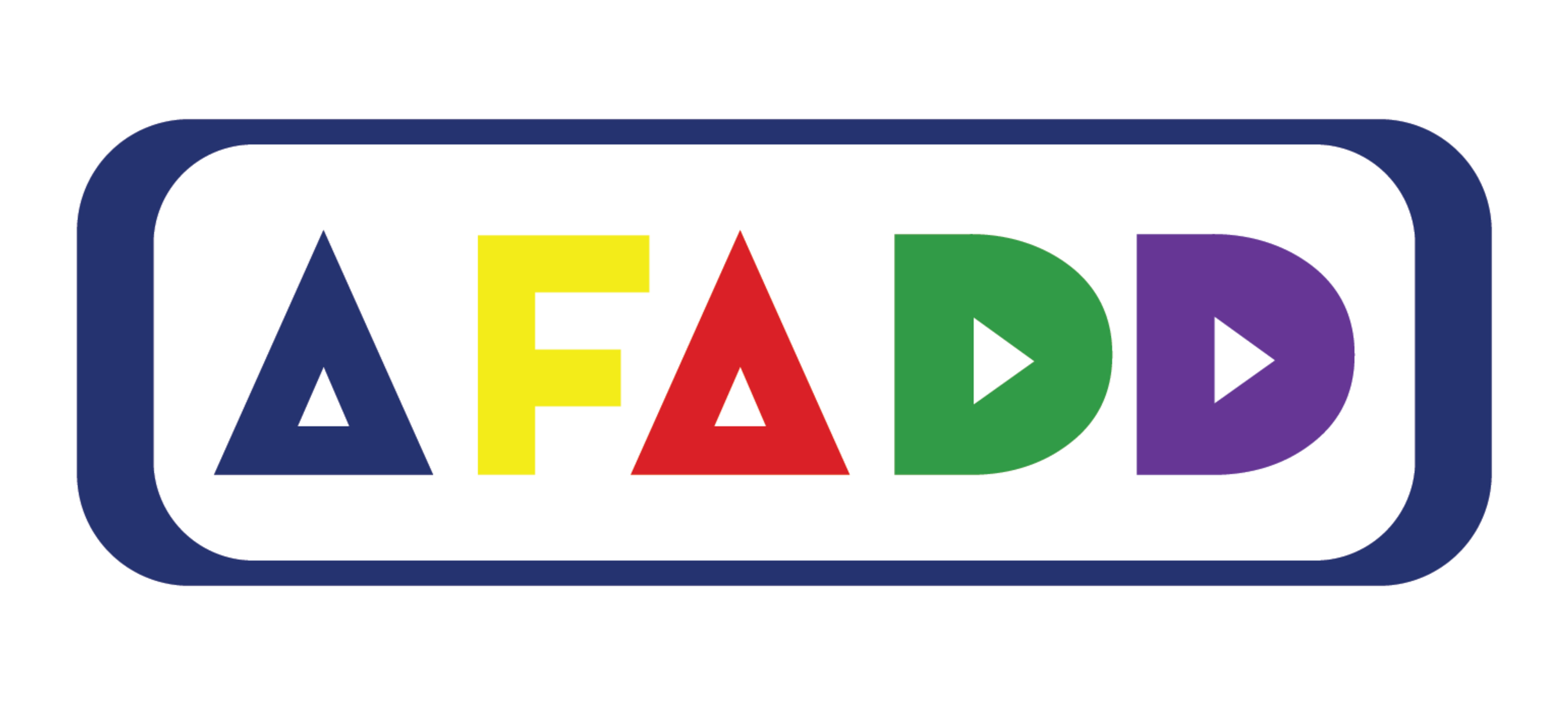 """Image that reads """"AFADD"""" in block-letter text."""