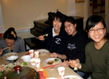 Taiwanese Cultural Organization out to dinner