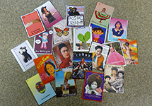 Challenging gender stereotypes by creating new Lotería cards