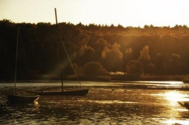 boating on Lake Waban