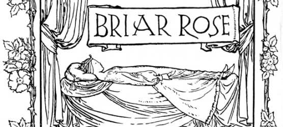 Grimm portrayal of Briar Rose or sleeping beauty