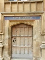 Bodleian Library Dorr