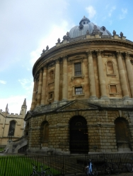 Radcliffe Camera Landing