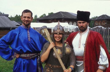 Tori and Cossacks at Lake Baikal
