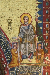 Charlemagne and Pope Leo