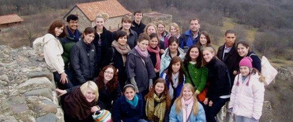 group photo at Dmanisi