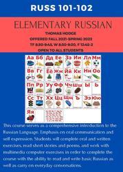Elementary Russian 101-102