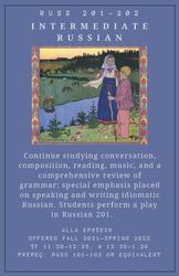 Intermediate Russian 201-202