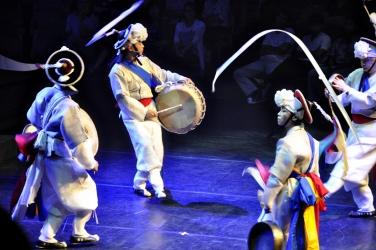 Traditional Korean music show
