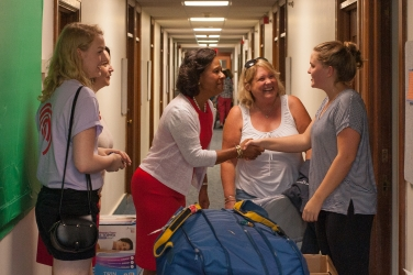 photo from move-in day 2016