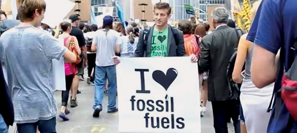 Author Alex Epstein presents  the moral case for fossil fuels