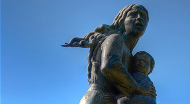 Mother Arising Out of the Ashes, Amenian Genocide Memorial, Tsitsernakaberd